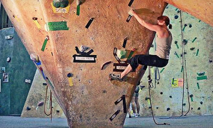 Inner Peaks - Charlotte: Group Indoor Climbing Packages for Two or Four People or Three Single-Person Climbing Packages at Inner Peaks (Up to 55% Off)
