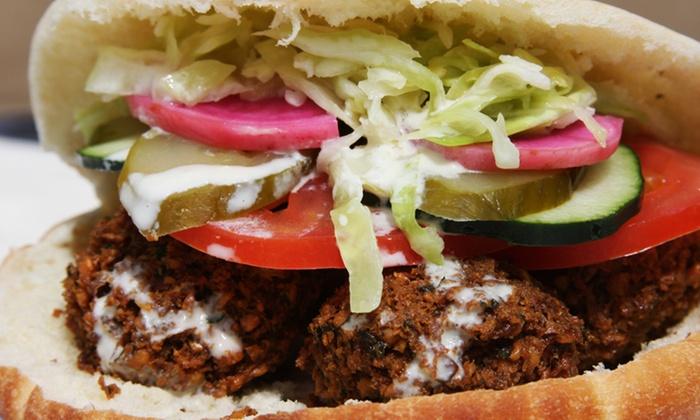 Falafel, etc. - Central Downtown: $12 for $20 Worth of Middle Eastern Food at Falafel, etc.