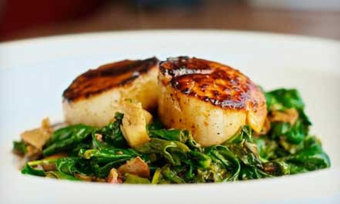 The RowHouse Grille - SBIC/ West Federal Hill: Upscale Pub Food Sunday–Thursday or Friday–Saturday at The RowHouse Grille (50% Off)