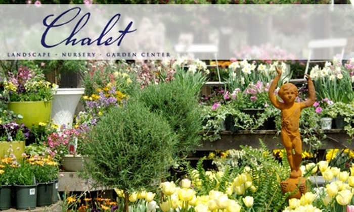 Chalet - Wilmette: $20 for $40 Worth of Plants, Tools, Garden Décor, and More at Chalet