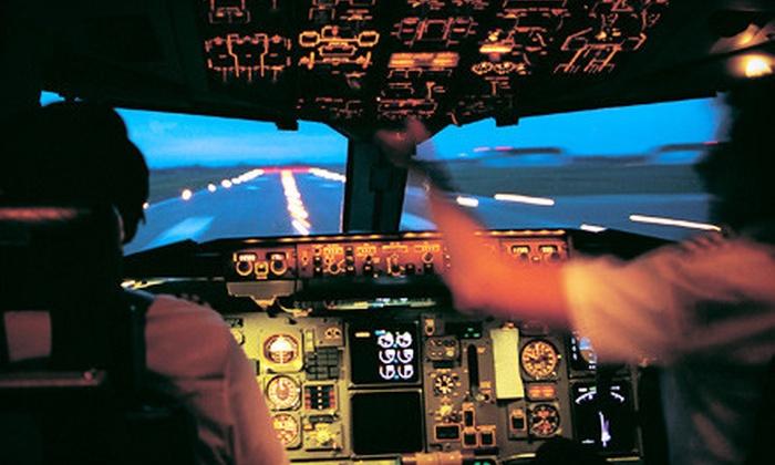 Destinations Executive Flight Training LLC - Tulsa: One, Two, or Three Flight-Simulation Experiences at Destinations Executive Flight Training LLC (Up to 57% Off)