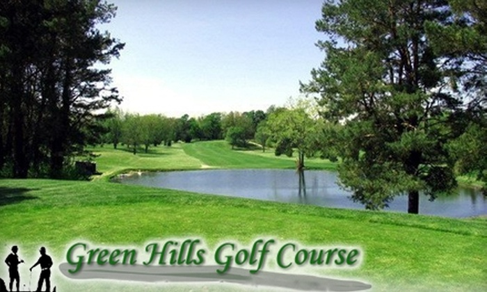 Green Hills Golf Course - Multiple Locations: $20 for $40 Worth of Golf and Cart Use at Green Hills Golf Course