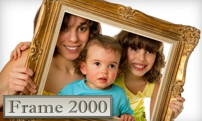 Frame 2000 - Venice: $40 for $100 Worth of Custom-Framing Services and Locally Sourced Art Pieces at Frame 2000 in Venice