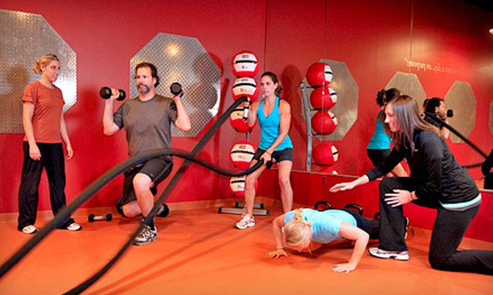 FitnessQuest - Multiple Locations: 5 or 15 Fitness Classes at FitnessQuest (Up to 61% Off). Two Locations Available.