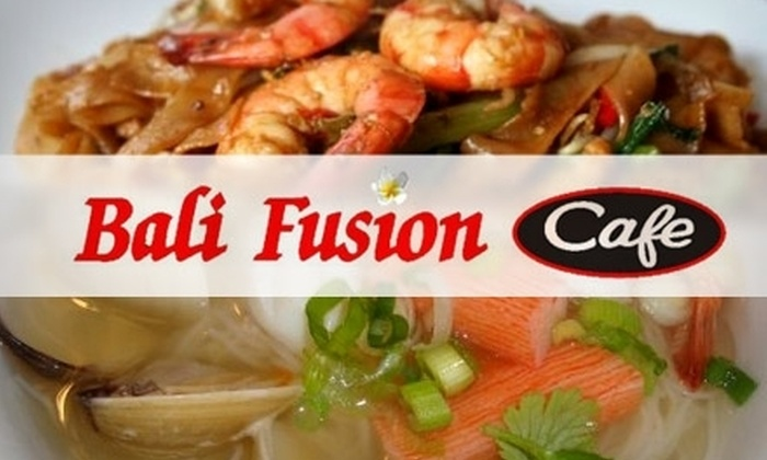 Bali Fusion - Tulsa: $7 for $15 Worth of Authentic Southeast Asian Cuisine at Bali Fusion Cafe
