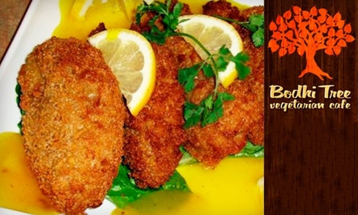 Bodhi Tree Vegetarian Cafe - Downtown Huntington Beach: $12 for $24 Worth of Vegetarian Fare and Drinks at Bodhi Tree Vegetarian Cafe in Huntington Beach