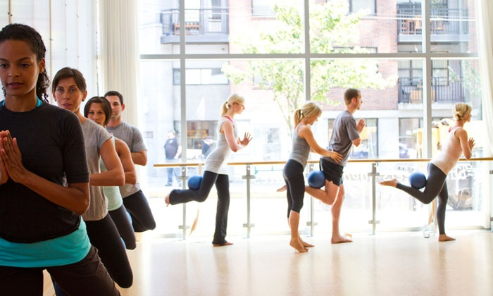 barre3 - University City: $39 for Four barre3 Fitness Classes at barre3 ($80 Value)