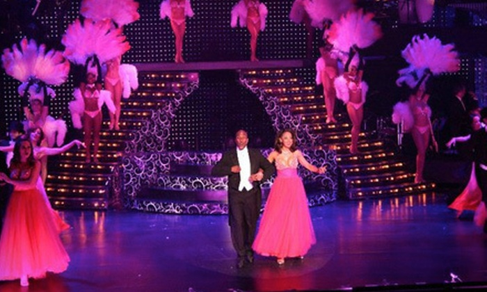 """Vegas! The Show - The Strip: """"Vegas! The Show"""" Performance for One or Two at the Saxe Theater (Up to 56% Off)"""