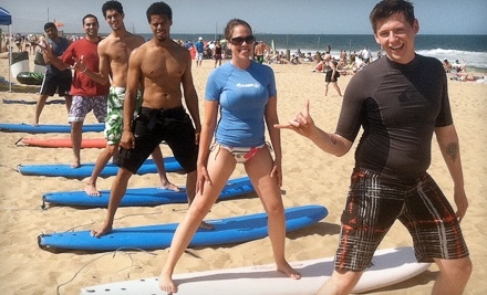 VB Surf Sessions: 2-Hour Group Surf Lesson - VB Surf Sessions in Virginia Beach