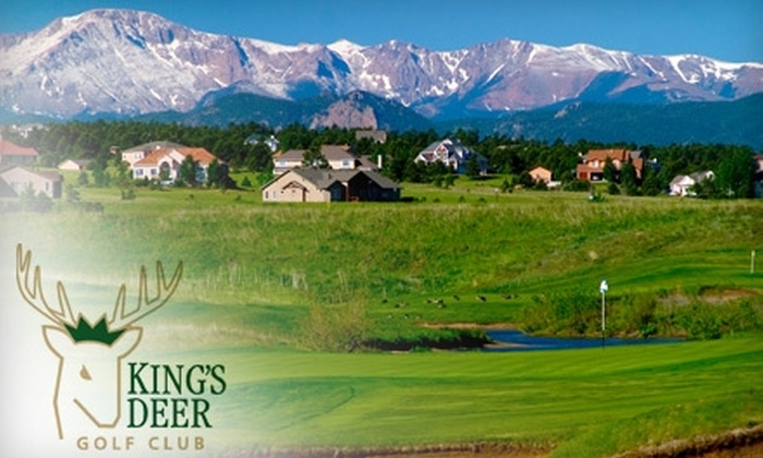 King's Deer Golf Club - Black Forest-Peyton: $29 for One 18-Hole Round of Golf With Cart at King's Deer Golf Club in Monument