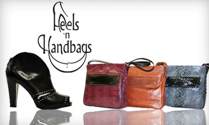 Heels 'n Handbags - Greater Sudbury: $50 for $100 Toward Handbags, Shoes, and Jewellery at Heels 'n Handbags