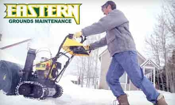 Eastern Grounds Maintenance - 14, Bowie: $69 for Snow Removal of Driveway, Sidewalk, and Front Door from Eastern Grounds Maintenance ($150 Value)