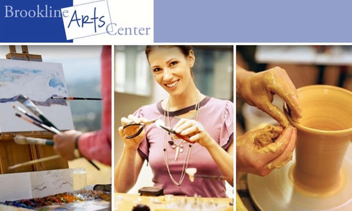 Brookline Arts Center - Coolidge Corner: $50 for One-Year Membership & Enrollment in a Fall or Winter Workshop at Brookline