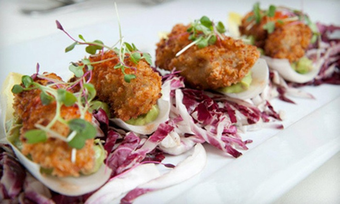 Water's Edge - Long Island City: $50 Worth of Upscale Contemporary Cuisine
