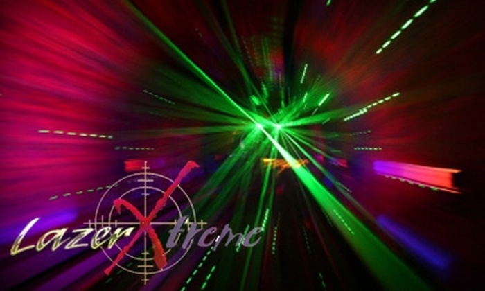 Lazer Xtreme - Middleburg Heights: $10 for 3 Rounds of Laser Tag at Lazer Xtreme ($20 Value)