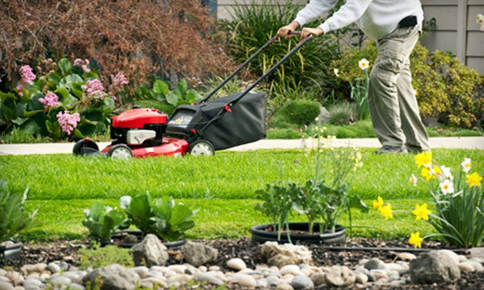 Rome's Landscape - Sioux Falls: Lawn Aeration, Dethatching, or Mowing Services from Rome's Landscape (Up to 51% Off). Seven Options Available.
