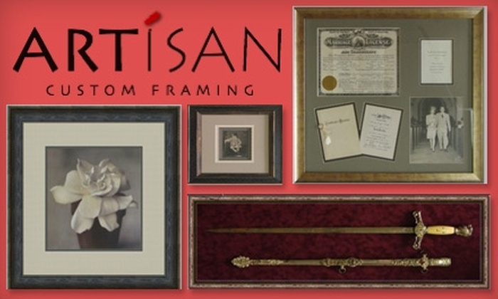 Artisan Custom Framing - Mill Creek: $40 for $100 Worth of Customized Framing Services at Artisan Custom Framing