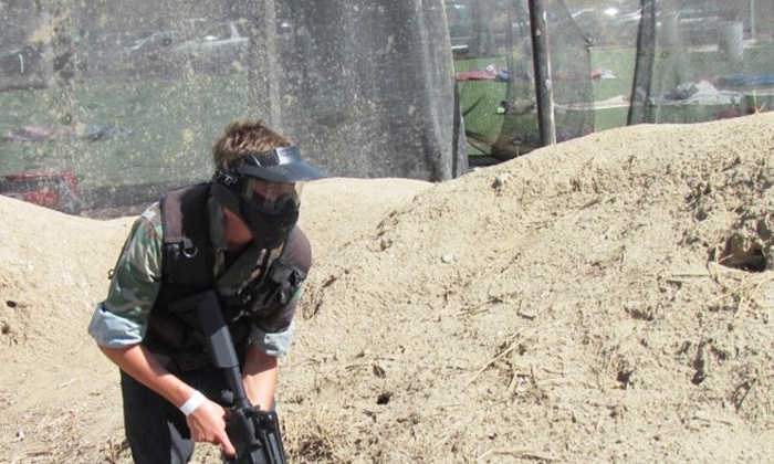 Jericho Airsoft - Temescal Valley: All-Day Admission for One or Airsoft Outing with Gear and Ammo for One or Four at Jericho Airsoft Park (Up to 55% Off)
