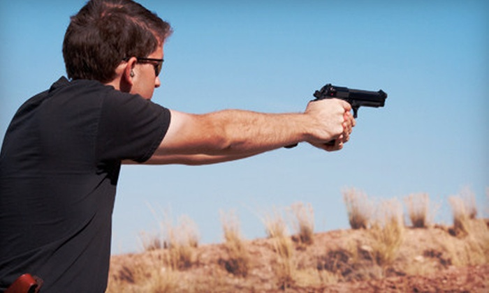 Practical Shooting - McLoud: $79 for a Shooting-Range Outing with Instruction, Range Time, and Ammo at Practical Shooting in McLoud ($165 Value)