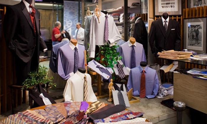 Duru's Custom Shirts and Suits – Detroit - Birmingham: $650 for a Men's Complete Suit Package at Duru's Custom Shirts and Suits – Detroit in Birmingham ($1,415 Value)