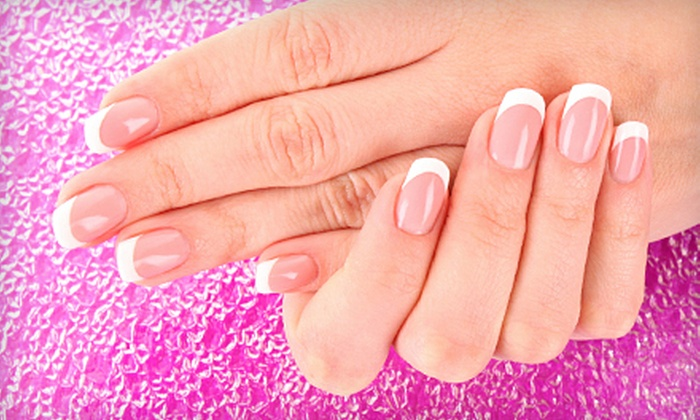 Salon Lidori - Greece: Beauty Package with Spa or Gel Manicure, Haircut, and Style at Salon Lidori (Up to 54% Off). Three Options Available.