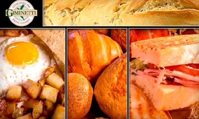 Giminetti Baking Company - Walnut Hills: $7 for $15 Worth of Fresh Breads, Breakfast, and Sandwiches at Giminetti Baking Company