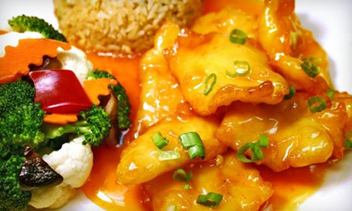 Chow's Asian Bistro - Cottonwood Mall: $10 for $20 Worth of Chinese Fare and Drinks at Chow's Asian Bistro