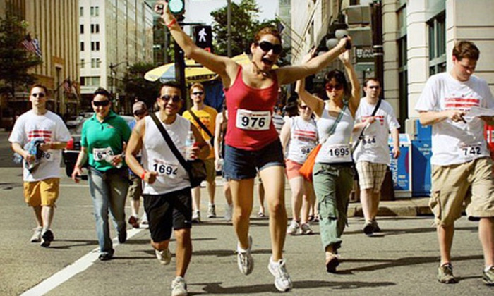 The DC Challenge: The Ultimate Urban Scavenger Race - Washington DC: $25 for an Entry to The DC Challenge: The Ultimate Urban Scavenger Race on April 28 ($50 Value)