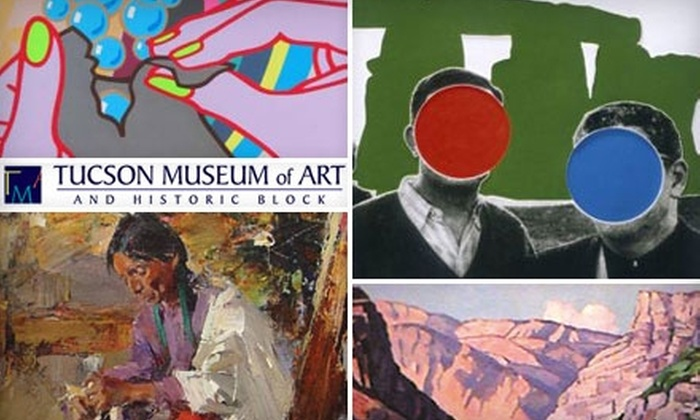 Tucson Museum of Art - El Presidio: One-Year Membership to Tucson Museum of Art. Choose from Two Options.