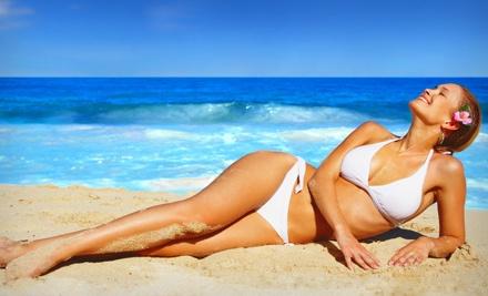 1 Airbrush Tan (a $35 value) - Glo Face & Body in Clovis