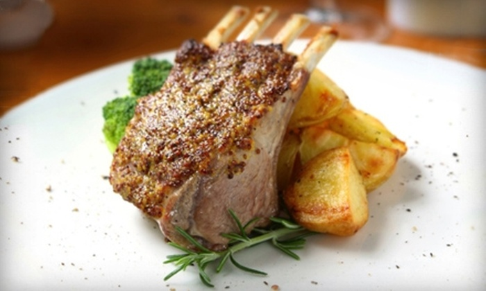 Waterstone Bar & Grille - Downtown: $15 for $30 Worth of Mediterranean Cuisine and Fine Wine at Waterstone Bar & Grille