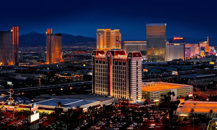 Palace Station Hotel & Casino - Las Vegas: Two-Night Stay with Breakfast Buffet and Gaming Chips at Palace Station Hotel & Casino in Las Vegas