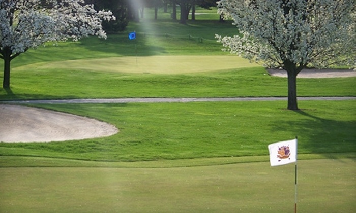 Maple Creek Golf and Country Club - Warren: Four Rounds of Golf and Range Balls at Maple Creek Golf and Country Club. Two Options Available.