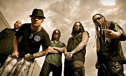Ticketmaster: Five Finger Death Punch at Mohegan Sun Arena on Sat., Nov. 26 at 7:30PM: Sections 205-216 Seating - Five Finger Death Punch: Share The Welt Tour  in Wilkes-Barre