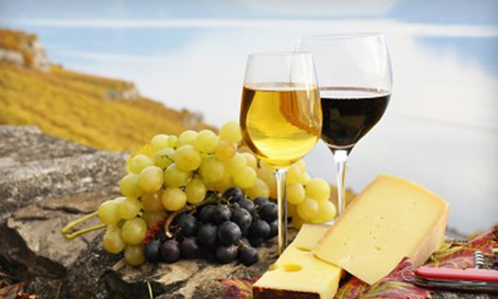 Old Firehouse Winery - Geneva-on-the-Lake: $15 for a Winery Outing with Wine Accessories and Cakes for Two at Old Firehouse Winery in Geneva-on-the-Lake ($29.89 Value)