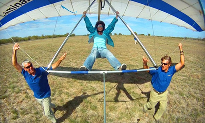Thermalriders LLC - Luling: $119 for an Introductory Hang-Gliding Lesson from Thermalriders LLC in Luling ($225 Value)