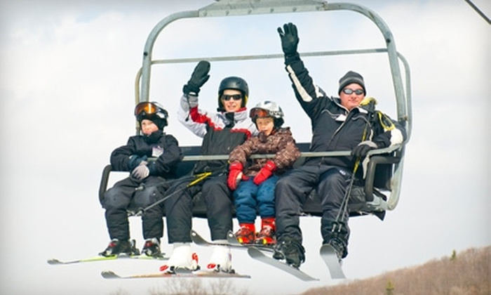 Horseshoe Resort - Barrie: $27 for an All-Day Ski Lift Ticket (Up to $54 Value) at Horseshoe Resort