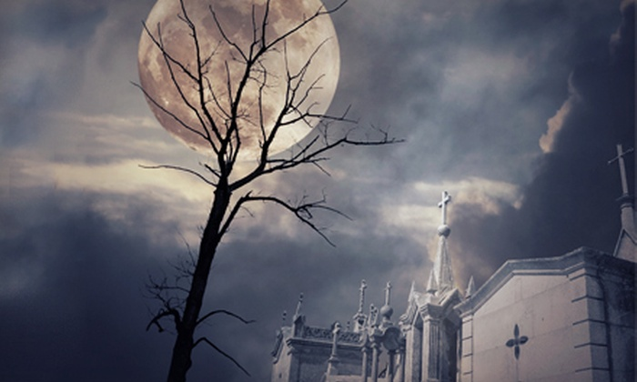 Haunted Hometowns - Downtown Naperville: Lantern-Lit Walking Ghost Tour for Two or Four from Haunted Hometowns in Naperville (Up to 51% Off)