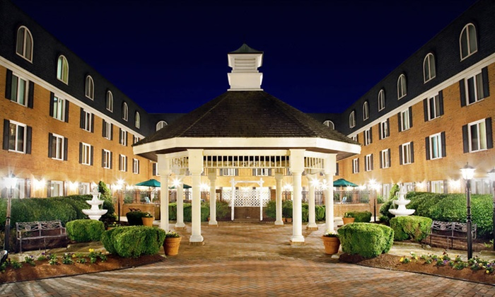 Hilton Christiana - Upper Christiana: $92 for a One-Night Stay for Two with Dining Credit at the Hilton Christiana in Delaware (Up to $194 Value)