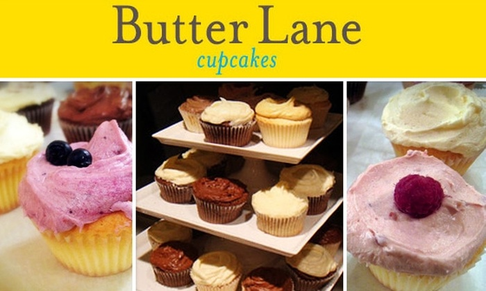 Butter Lane Cupcakes - East Village: $8 for Six Butter Lane Cupcakes ($16 Value)