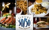 Slater's 50/50 - Anaheim Hlls: $10 for $20 Worth of Burgers and Drinks at Slater's 50/50