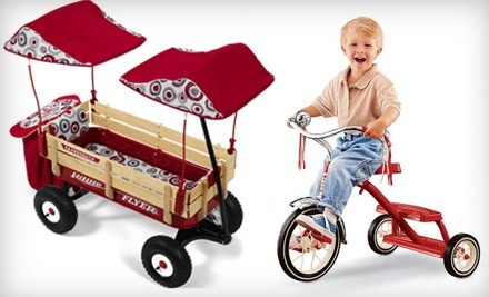 $50 Groupon to Radio Flyer - Radio Flyer in