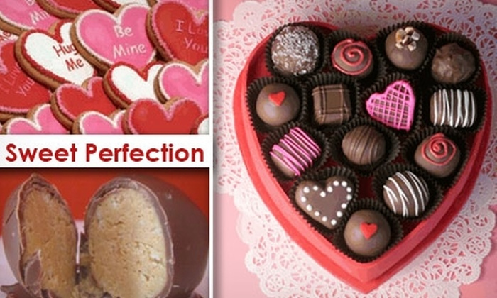 Sweet Perfection - Stratford Estates: $6 for $15 Worth of Chocolates and Treats at Sweet Perfection