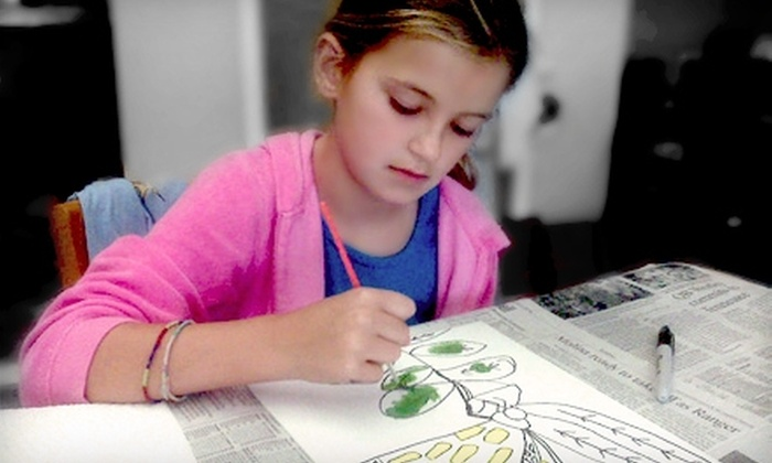 KidzArt Charlotte - Myers Park: $82 for a One-Week Children's Art Camp from KidzArt ($165 Value)
