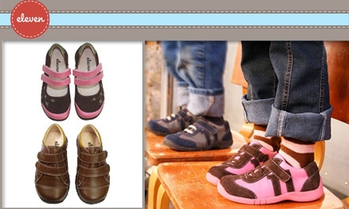 Eleven Collection - Portland: $25 for $50 Worth of Children's Footwear from Eleven Collection