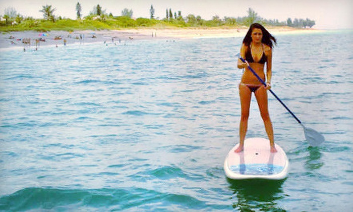 Coastal Paddle Boarding - Port Salerno: Half-Day Paddleboarding Rental for One or Two from Coastal Paddle Boarding in Stuart (Up to 53% Off)