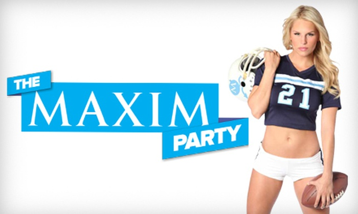 Park Tavern - Park Tavern: Maxim Football-Party Entry for Two or Four at Park Tavern (Up to 54% Off)