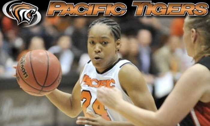 University of the Pacific Tigers - Pacific: $6 for Two General Admission Tickets to the University of the Pacific Tigers vs. UConn Huskies Women's Basketball Game (Up to $12 Value)