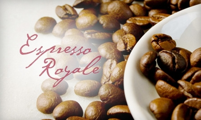 Espresso Royale - Multiple Locations: $10 for $20 Gift Card to Espresso Royale