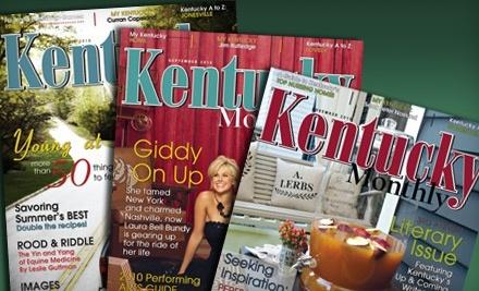 Kentucky Monthly Magazine - Kentucky Monthly Magazine in